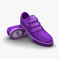 3d purple men sport shoes