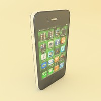 3d apple iphone 4 cdma model