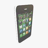 3d apple iphone 4 cdma model