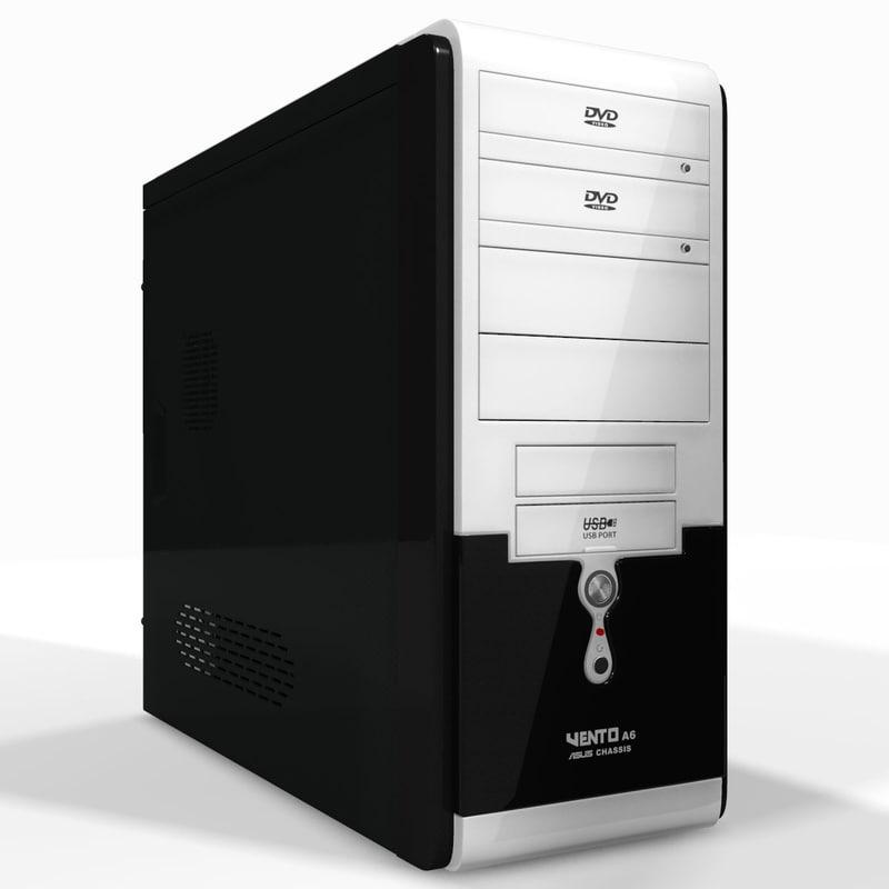 3d computer case asus ta-661 model