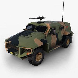 3d hawkei vehicle