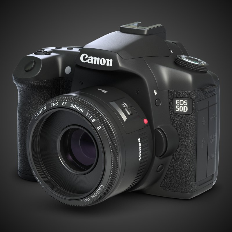 photo camera canon 50d 3ds
