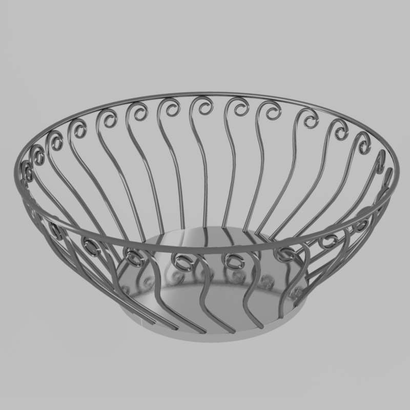3dsmax decorative bowl