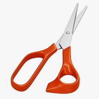 scissors v-ray 3d 3ds