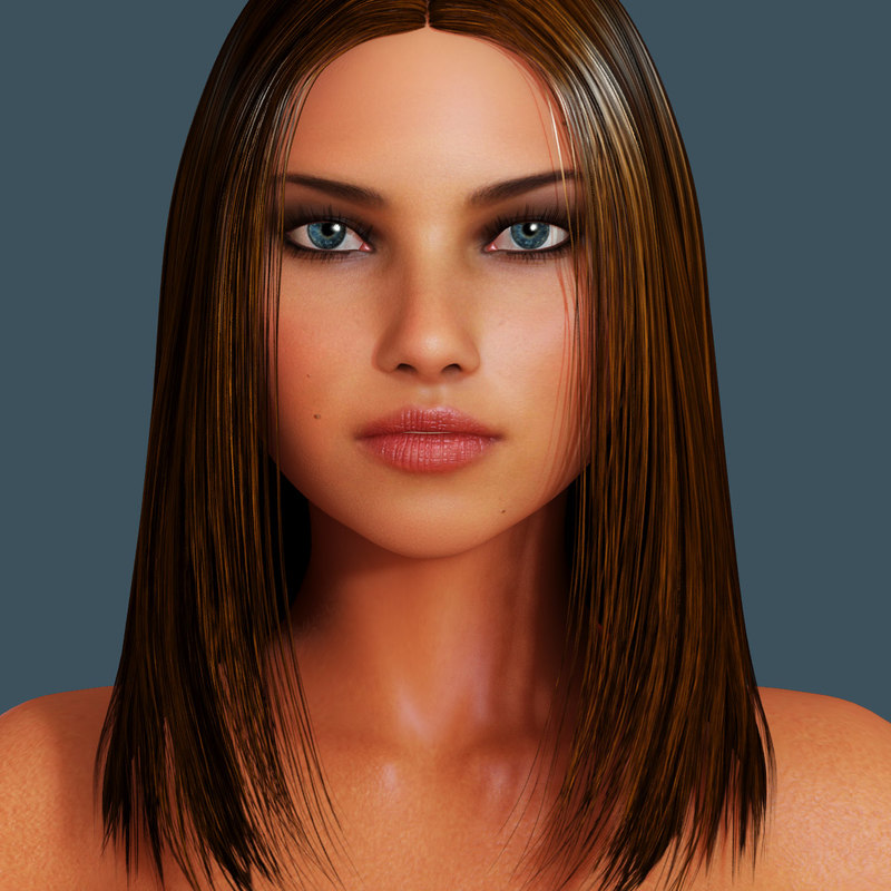 pandora photorealistic beauty 3d model
