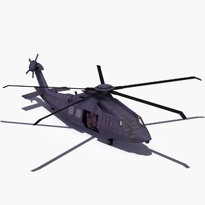 3d model special forces mh-x stealth