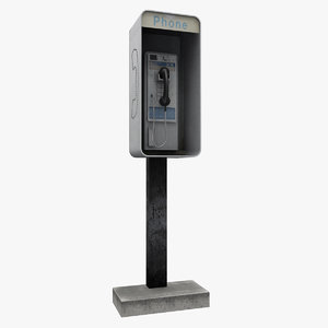 3dsmax new york street phone