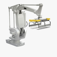 3d model industrial robot