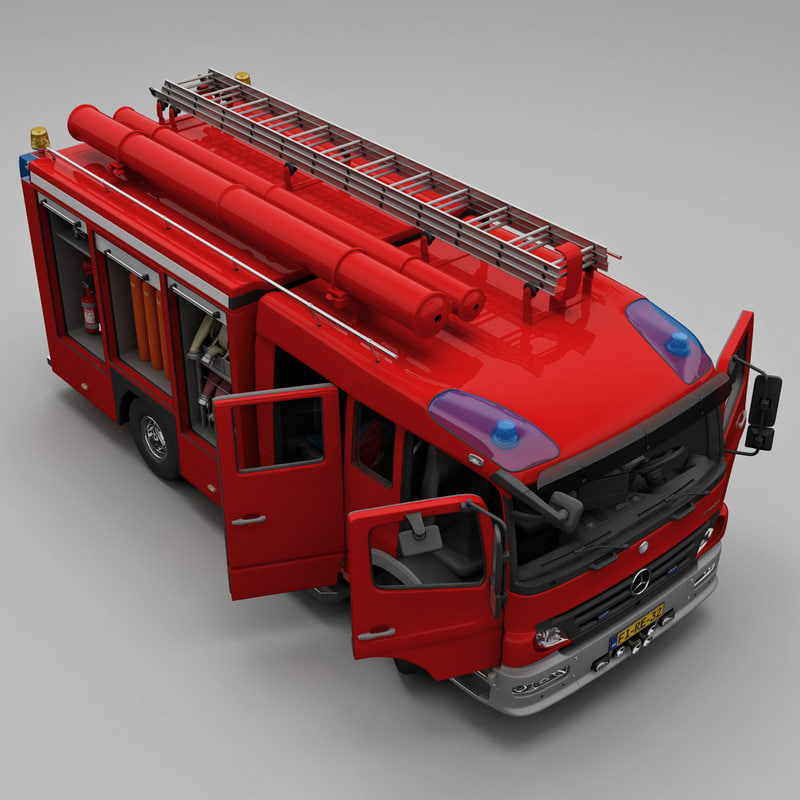 mercedes atego truck rigged max