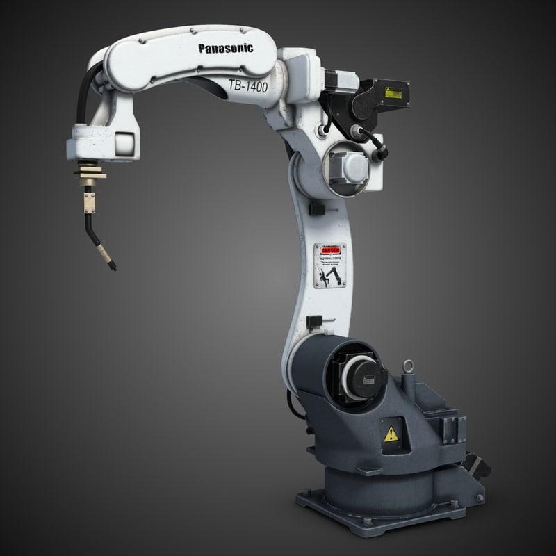 robot tb-1400 3d max