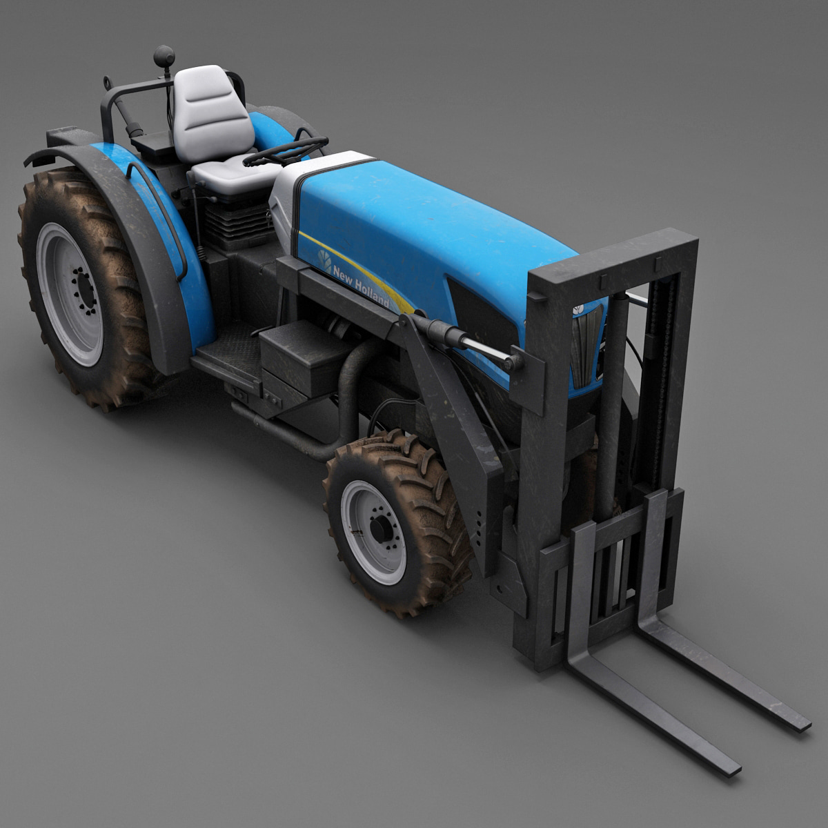 3d tractor new holland t4030 model