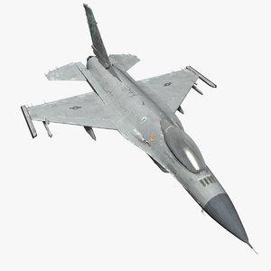 f-16 cockpit 3d model
