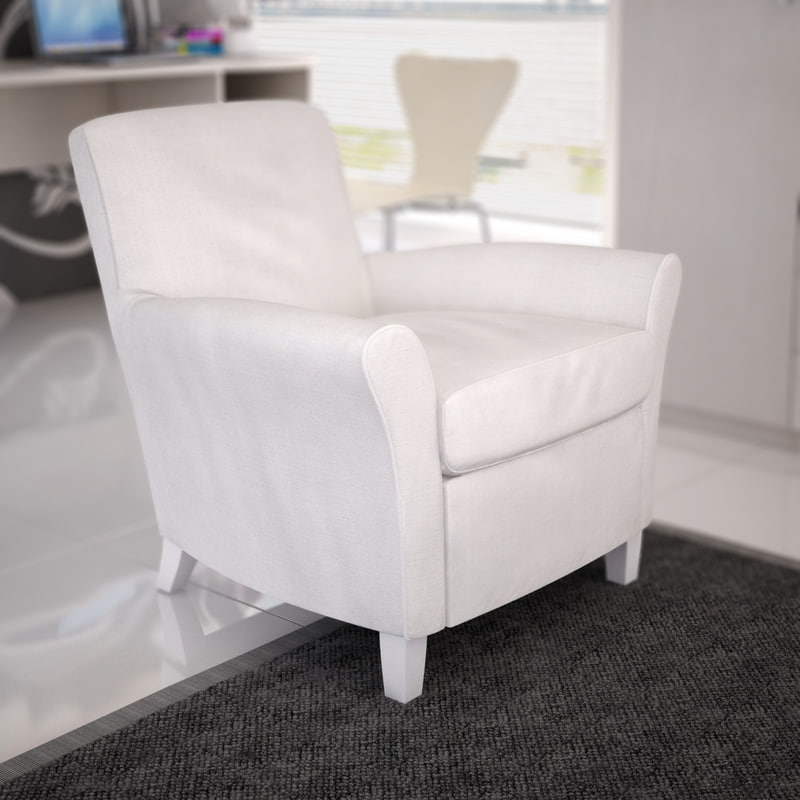 depadova club armchair - 3d model