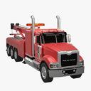 tow truck 3D models
