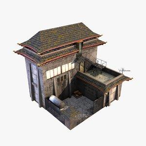 building headquarters 3d max