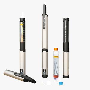 3 insulin pen novo max
