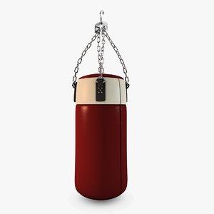3d model punching bag