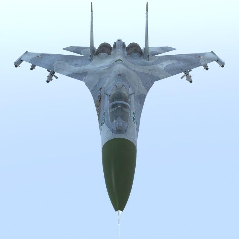 sukhoi su-27 sk flanker max