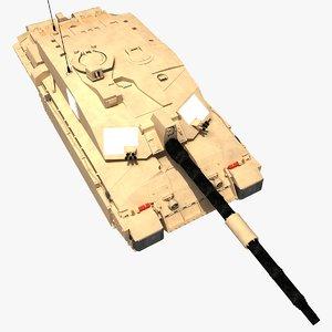 3d model fv4034 challenger 2 british