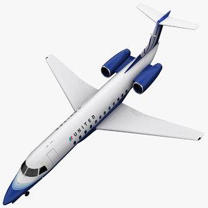 embraer erj 135 3d max