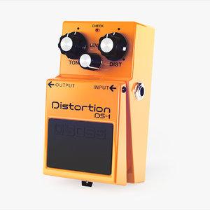 3d boss ds-1 guitar pedal