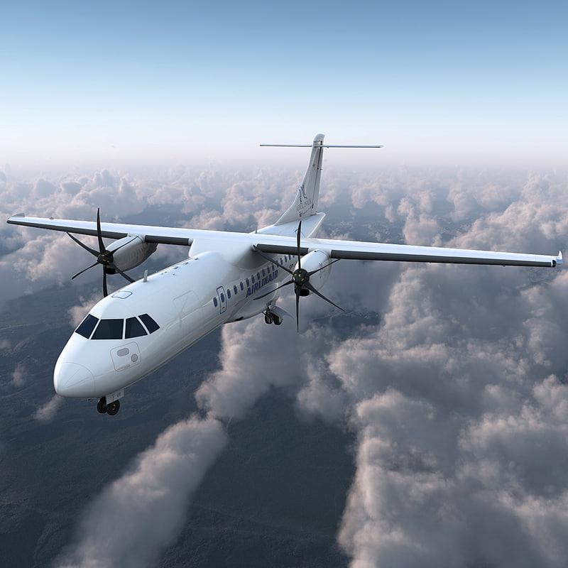 max passenger aircraft atr 42