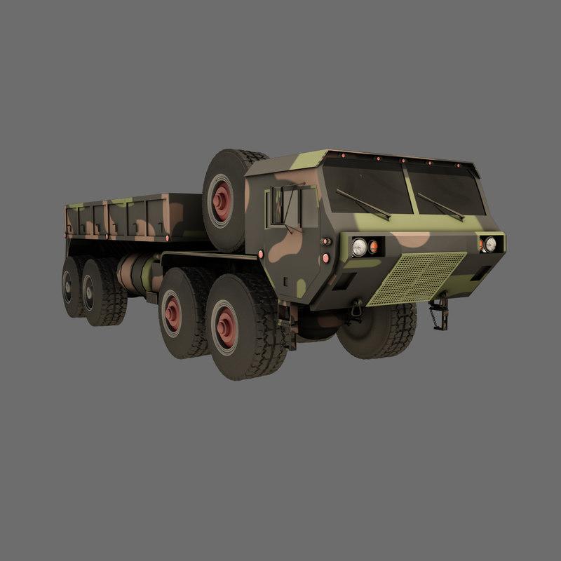 m977 a2 hemtt transport 3d model