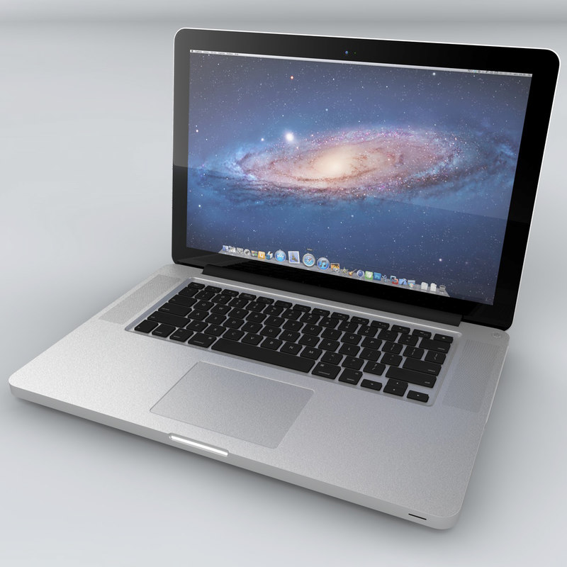 3d model macbook pro