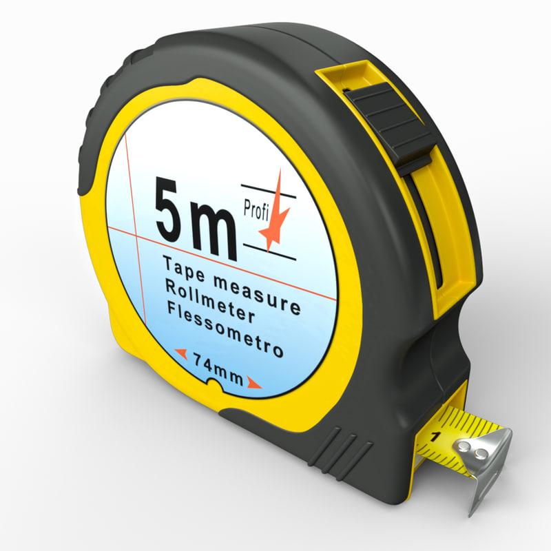 iray measure tape 3d max