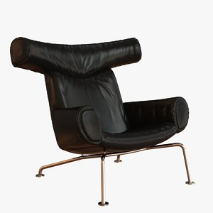ox chair 3d obj