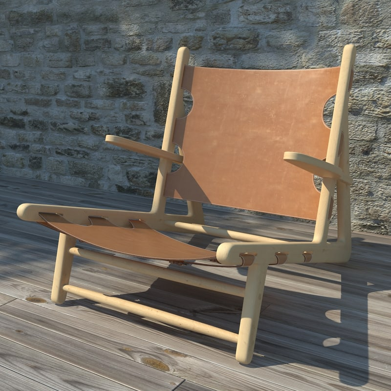 hunting chair 3d max