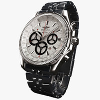 Breitling Barnato White-virtual 3d model