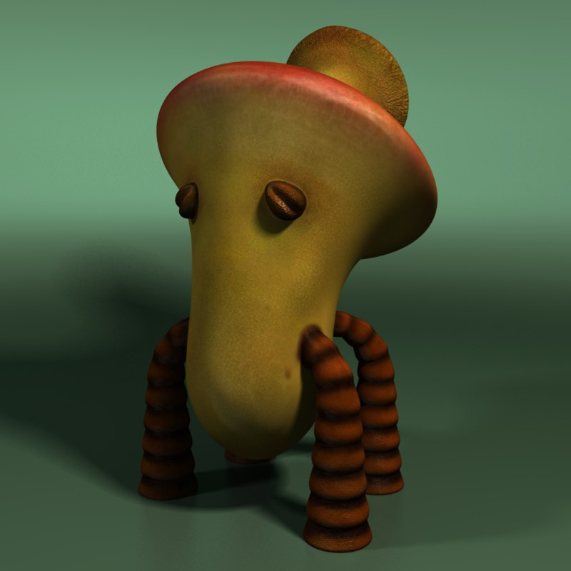 forest creature 3d model