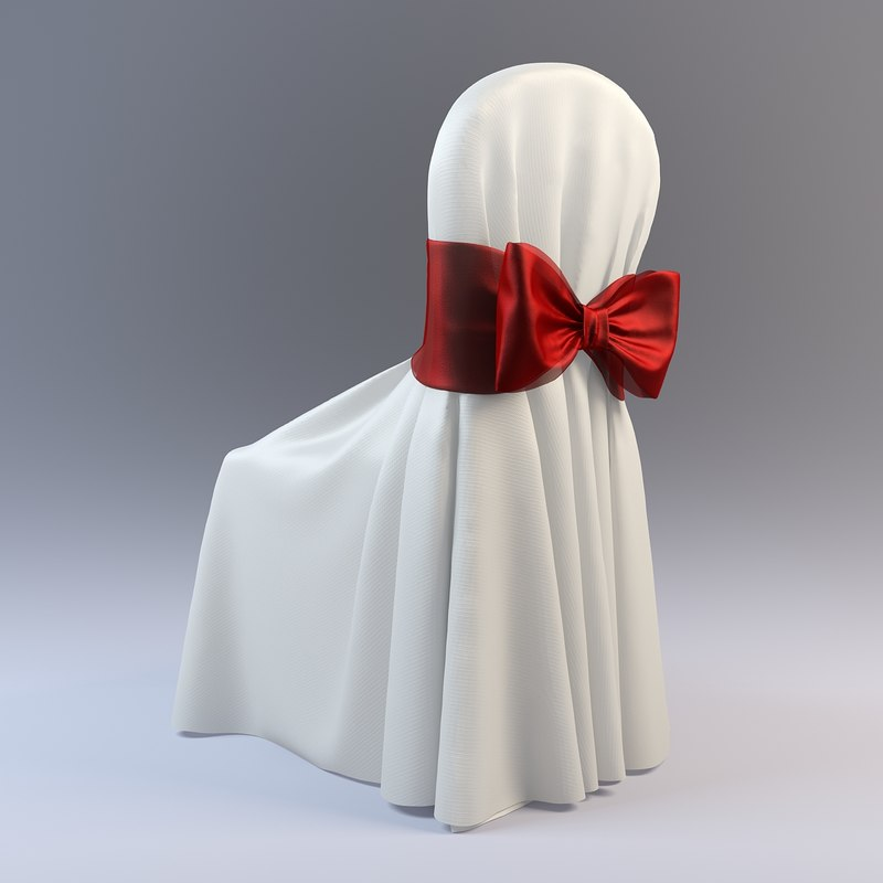 3d wedding chair model