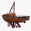 Davit Open Lifeboat