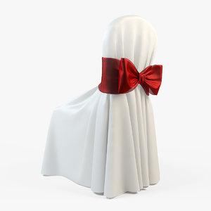3d wedding chair model