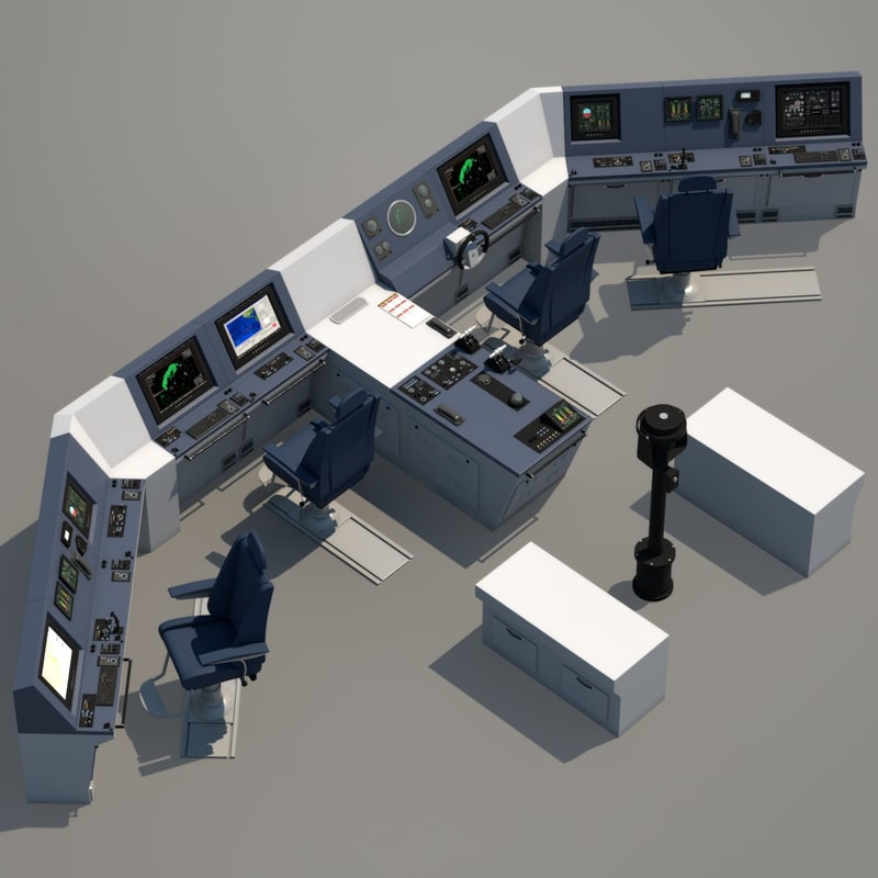 max ship bridge control room