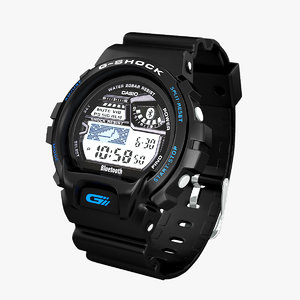 3d model casio g-shock gb-6900