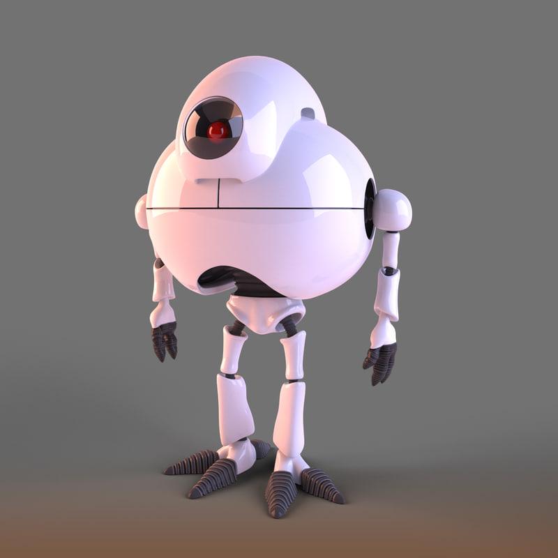giru robot 3d model