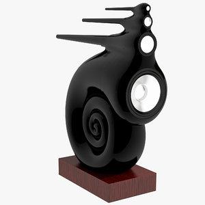 nautilus speakers 3d model