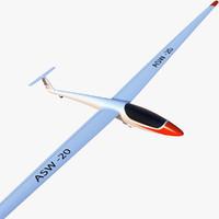 ASW 20 Glider