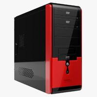 computer case asus ta-663 3d model
