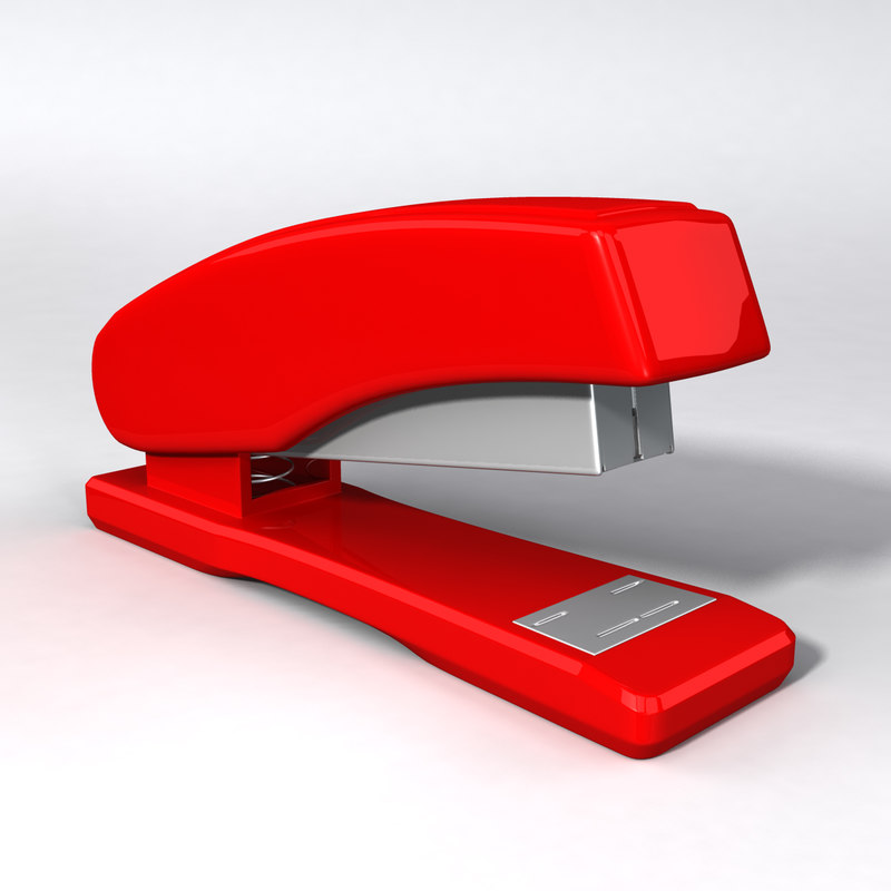 stapler product 3d obj