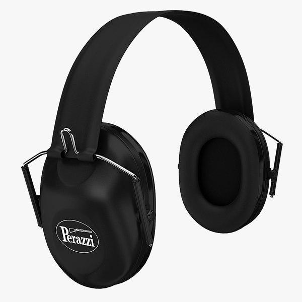3d perazzi ear