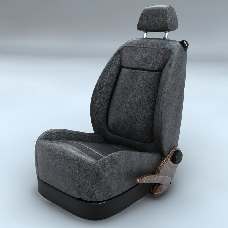 auto seat 3d c4d