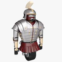 3d model robot centurion