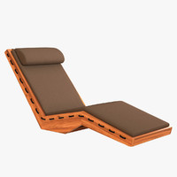 lauser chaise 3d model