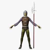 3d model medieval games