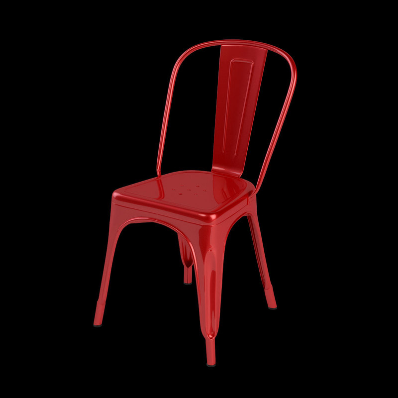 3d model design tolix chair