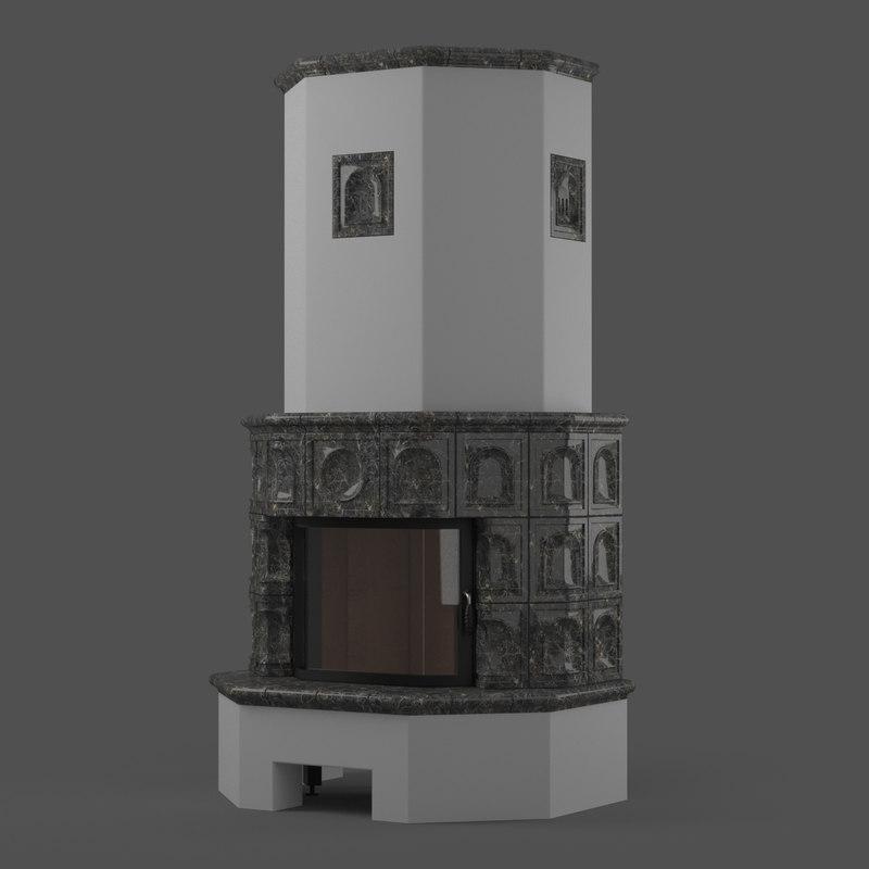x rustical fireplace